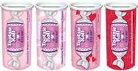 Image of Tootsie Roll Midgees Valentine Bank (4 oz.) Package