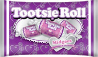 Image of Tootsie Roll Valentine Midgees (12 oz. Bag) Package