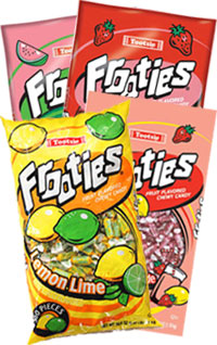 Image of Frooties Summer Time Flavors Variety 4-Pack Package