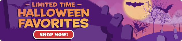 Halloween Shop Now banner image