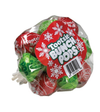 Image of Tootsie Christmas Bunch Pops Packaging