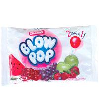 Image of Charms Blow Pops Assorted (10.4 oz. Bag) Packaging