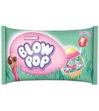 Image of Charms Easter Blow Pops (11.5 oz. Bag) Packaging