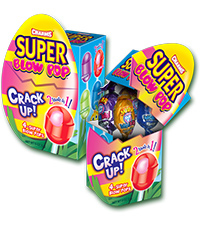 Super Blow Pop Cracked Egg Box (4.5 oz. Box) [chr-bp128561.jpg]