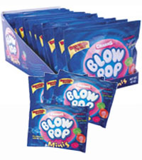 Image of Charms Blow Pop Minis Packaging