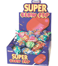 Image of Charms Super Blow Pop Assorted Packaging