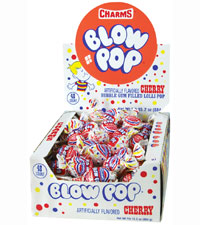 Image of Charms Blow Pop Cherry Packaging