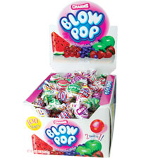 Image of Charms Blow Pop Assorted (100 ct. Box) Packaging