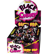 Image of Charms Blow Pop Black Cherry Packaging