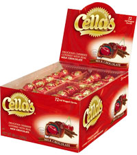Cella's Milk Chocolate (72 ct. Box) [chr-cl372121.jpg]