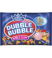 Image of Dubble Bubble Original Twist (1 lb. Bag) Packaging