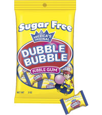 Image of Dubble Bubble Sugar Free Original Twist Packaging