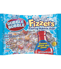 Dubble Bubble Fizzers  (9.5 oz. Bag) [chr-db139104.jpg]