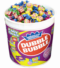 Dubble Bubble Assorted Twist (300 ct. Tub) [chr-db164007.jpg]