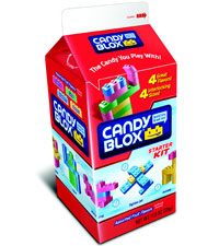 Image of Candy Blox Activity Candy (11.5 oz. Milk Carton) Packaging