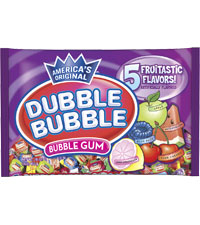 Image of Dubble Bubble Assorted Twist (1 lb. Bag) Packaging