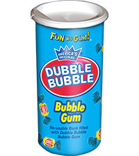 Dubble Bubble Original Twist Bank (3.5 oz. Canister) [chr-db932498.jpg]