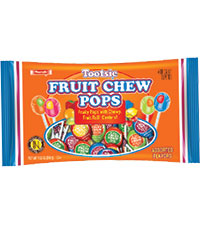 Image of Fruit Chew Pops (10.2 oz. Bag) Packaging