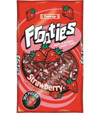 Image of Frooties Strawberry Packaging