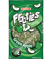 Image of Frooties Green Apple Packaging