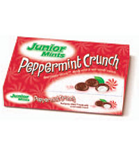 Image of Junior Mints Peppermint Crunch Box (3.5 oz. Box) Packaging