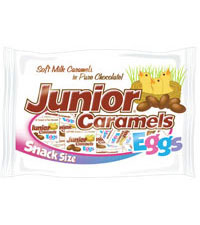 Junior Caramels Eggs Snack Size Boxes (9 oz. Bag) [chr-jm534090.jpg]