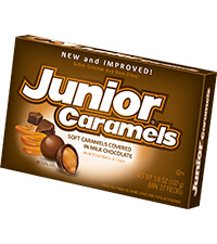 Image of Junior Caramels (3.5 oz. Box) Packaging