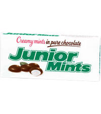 Image of Junior Mints Theater Box (3.5 oz. Box) Packaging