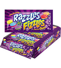 Image of Razzles Fizzles Packaging