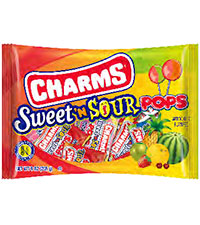 Charms Sweet 'N Sour Pops (9 oz. Bag) - Buy Now