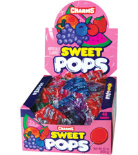 Image of Charms Sweet Pops (Assorted) Packaging
