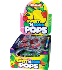 Image of Charms Sweet 'N Sour Pops Packaging
