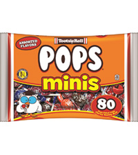 Image of Tootsie Pops Miniatures (14.4 oz. Bag) Packaging