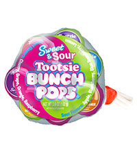 Tootsie Sweet and Sour Bunch Pops - Buy Now
