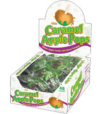 Image of Caramel Apple Pops (30 oz./48 ct. Box) Packaging