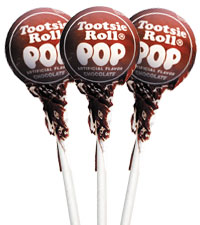 Chocolate Tootsie Pops (50 ct. Bag) [chr-tpchoco.jpg]