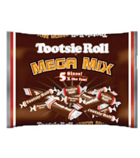 Tootsie Roll Mega Mix (4 lb. Bag) [chr-tr006207.jpg]