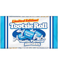 Image of Tootsie Roll Vanilla Midgees (16 oz. Bag) Packaging