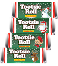 Tootsie Roll Christmas Twin Bar [chr-tr011270.jpg]