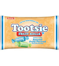 Image of Tootsie Fruit Rolls in Easter Bag (12 oz. Bag) Packaging