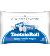 Tootsie Roll Vanilla Midgees in Winter Bag [chr-tr416256.jpg]