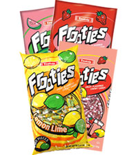 Image of Frooties Summer Time Flavors Variety 4-Pack Packaging