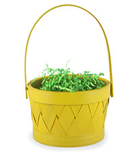 Yellow Easter Basket with Grass Filling [chr-ybasket.jpg]
